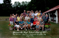 GHS CLASS OF 1957 GROUP PHOTO