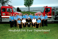 2011 MAYFIELD VOL. FIRE DEPARTMENT GROUP PHOTO