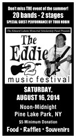 08162014: THE EDDIE 2 MUSIC FESTIVAL