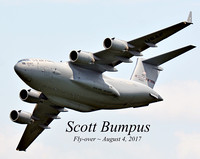 08042017: SCOTT BUMPUS C-17 AF FLY-OVER