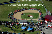 ~ AERIAL PHOTO: GLOVERSVILLE LITTLE LEAGUE OPENING DAY 2012