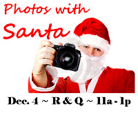 12-04-2011: PHOTOS WITH SANTA @ RUBY & QUIRI.
