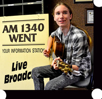 10132016: SAWYER FREDERICKS AT WENT RADIO STATION