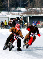 01052014: ELECTRIC CITY RIDERS ICE RACES @ SIP